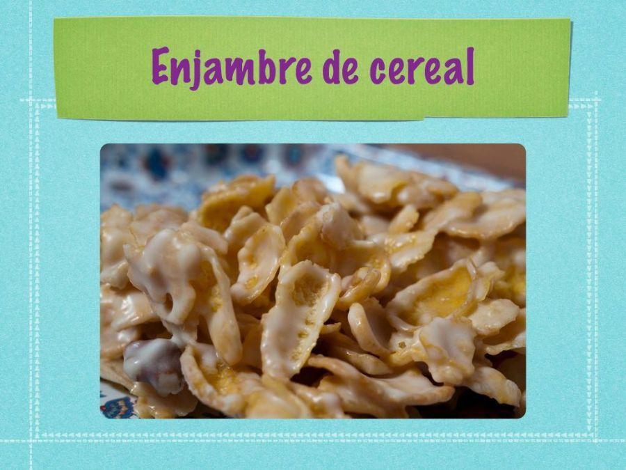 Enjambres de cereal
