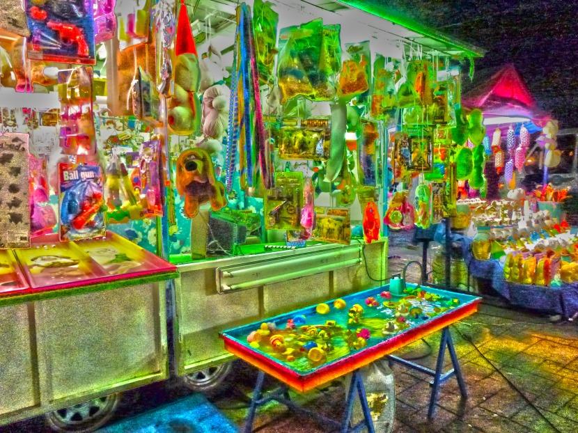 Feria at Coyoacan Center , Mexico city