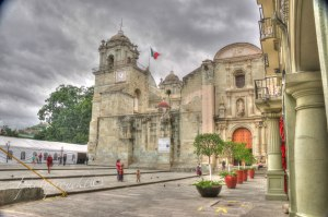 Oaxaca city, principal Church photos 2015