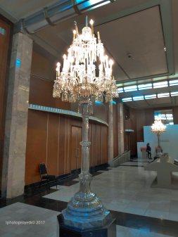 Candelero Bellas Artes
